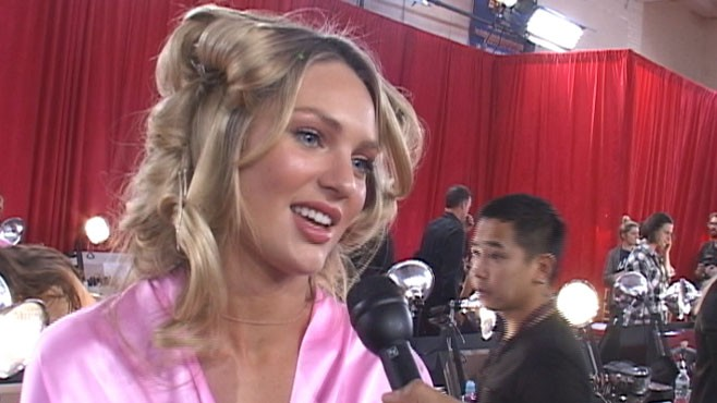 VIDEO: Backstage dish from the Victorias Secret 2010 Fashion Show.