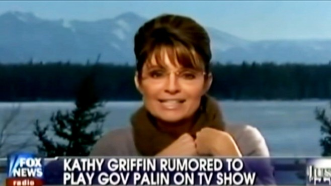 VIDEO: Sarah Palin asks comedian Kathy Griffin to leave her children alone.