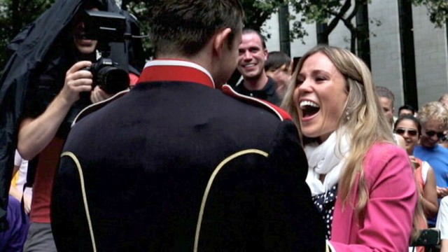 VIDEO: Flash Mob Wedding Proposal Includes Marching Band