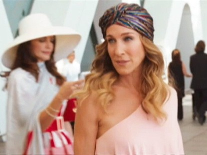 VIDEO: Film trailer for Sex and the City 2.