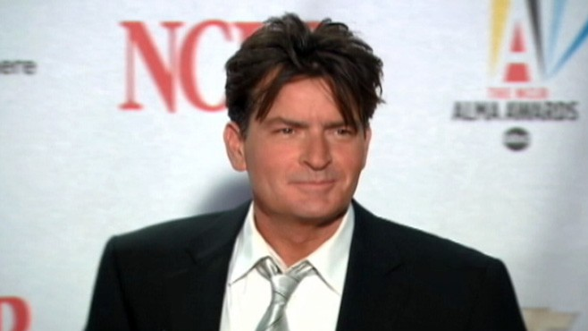 VIDEO: Charlie Sheen says network executives are stopping his return.