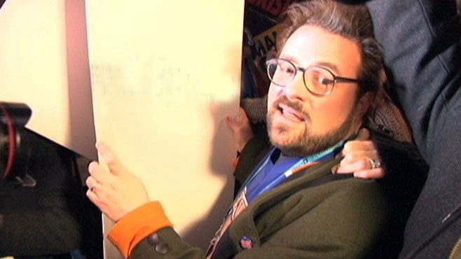 VIDEO: Red State director defends controversial movie at Sundance Film Festival.