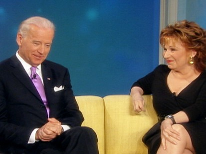 VIDEO: Joe Biden says President Obama laughed at his F-bomb slip up.