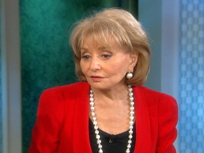 VIDEO: Barbara Walters is shocked by reports that Sandra Bullocks husband cheated on her.