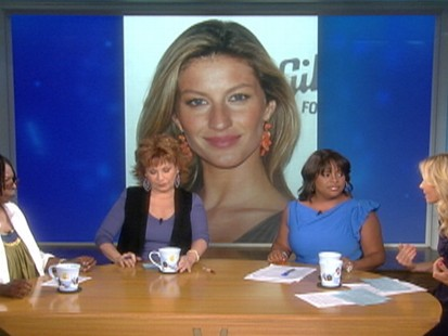 VIDEO: The View tears into Giselle Bundchens breastfeeding remarks.