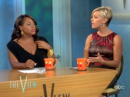VIDEO: Kate Gosselin tells The View about her life as a single mom.