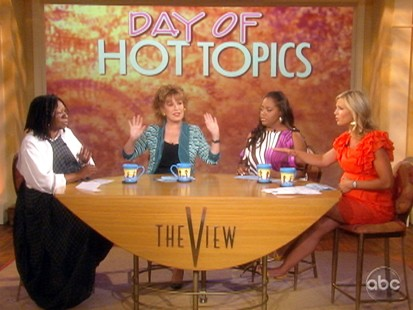 VIDEO: The View talks about news of Sarah Palins resignation.