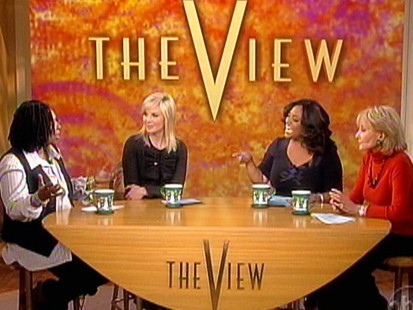 VIDEO: The View talks about New Years resolutions.