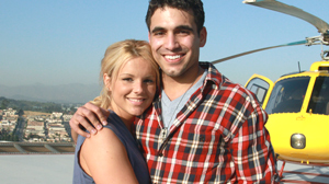 """PHOTO Roberto Martinez and Ali Fedotowskky are shown in a scene from """"The Bachelorette."""""""