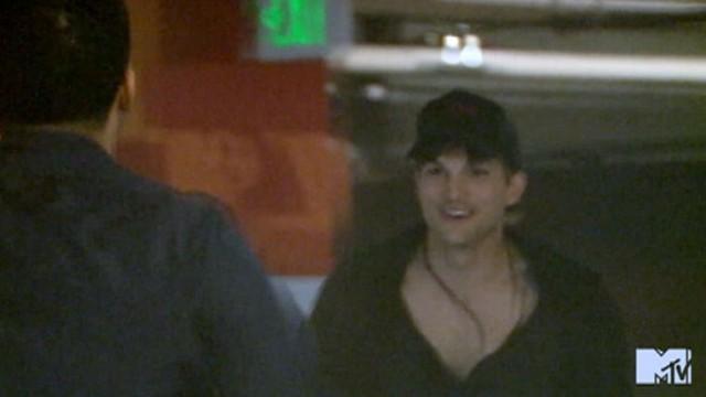 "VIDEO: Kutcher staged pranks for Drake and Kim Kardashian at the ""MTV Movie Awards."""
