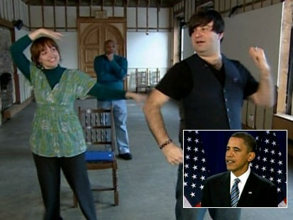 Video: New Obama musical opens.