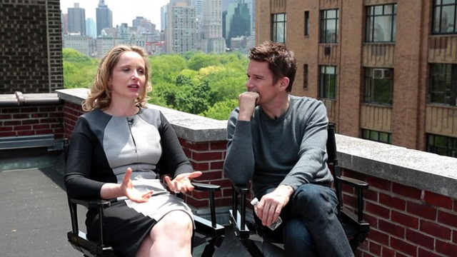 "VIDEO: Stars of ""Before Midnight"" have made three films together over 19 years -- are they still friends?"