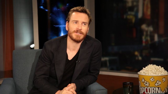 "VIDEO: ""Prometheus"" actor on his characters unmentionable parts."