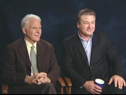 "VIDEO: Alec Baldwin and Steve Martin talk about making ""Its Complicated."""