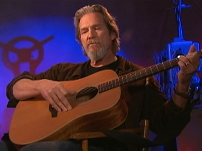 VIDEO: Jeff Bridges plays guitar and sings the song from Crazy Heart.