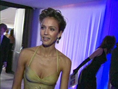 VIDEO: Jessica Alba apologizes for plastering shark conservation posters in Oklahoma City.