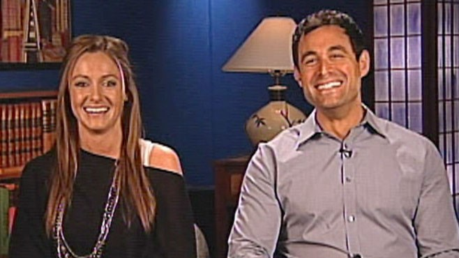 VIDEO: Jason Mesnick and Molly Malaney will race for the American Cancer Society.