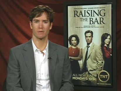 "VIDEO: Mark Paul Gosselaar stars in the courtroom drama, ""Raising the Bar."""