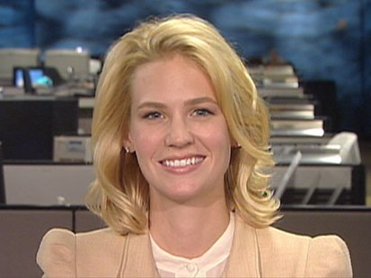"VIDEO: ""Mad Men"" star January Jones talks about her campaign for shark conservation."