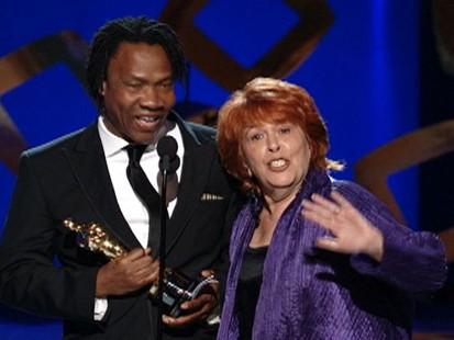 VIDEO: Producer Elinor Burkett hijacks an acceptance speech for best documentary short.