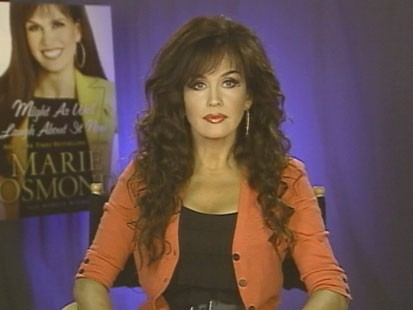 VIDEO: Marie Osmond writes about public and personal milestones in her new book.