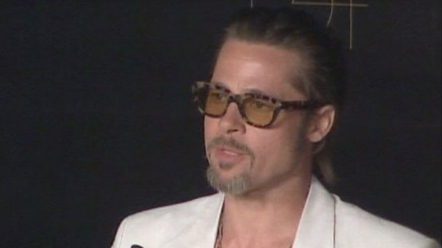 "VIDEO: Brad Pitt opens up about religious beliefs at press conference for ""Tree of Life."""