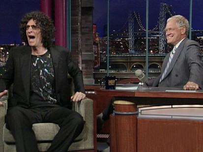 VIDEO: Howard Stern criticizes Jay Leno while on The Late Show.