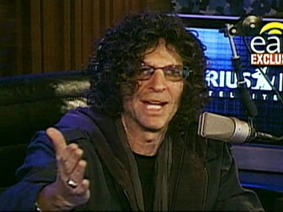 VIDEO: Howard Stern accuses Jay Leno of stealing his material.