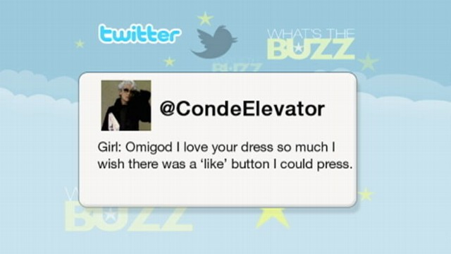 VIDEO: Twitter feed posts elevator comments from the Conde Nast building in New York.