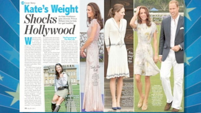 "VIDEO: Dawn Yanek of ""Life and Style Weekly"" analyzes the duchess shrinking figure."