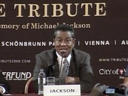VIDEO: Jermaine Jackson announces tribute concert for Michael Jackson.