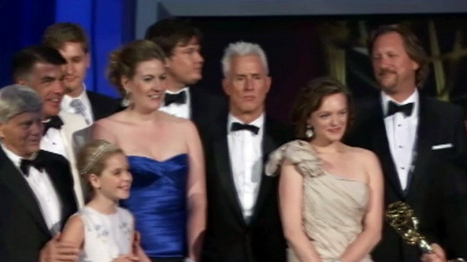 VIDEO: Mad Men and Modern Family win at the 2010 Emmy Awards.