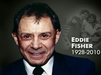 VIDEO: Eddie Fisher, ex-husband of Debbie Reynolds, dies in Berkeley, California.