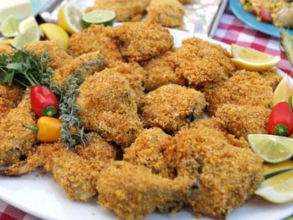PHOTO: Buttermilk not-fried chicken is shown here.