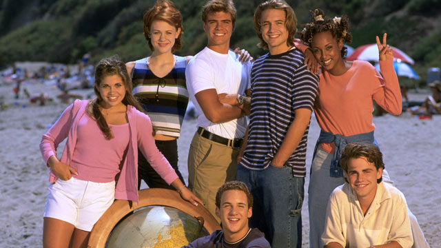 PHOTO: Boy Meets World, Ben Savage, Danielle Fishel, Maitland Ward, Matthew Lawrence, Will Friedle, Trina McGee-Davis, Rider Strong