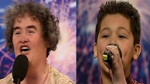 Competiton for Susan Boyle