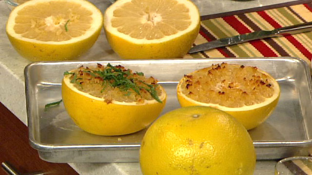 PHOTO: Daphne Oz's broiled grapefruit is shown here.