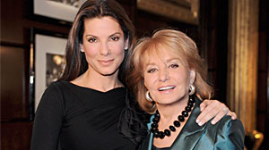 Photo: Barbara Walters Sits Down With Sandra Bullock