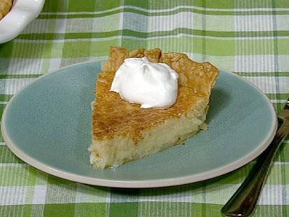 PHOTO: Carla Halls buttermilk pie is shown here.