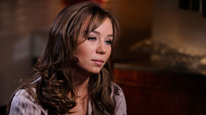 PHOTO: Capri Anderson, the woman at the center of Charlie Sheens latest scandal, speaks out to ABC News.