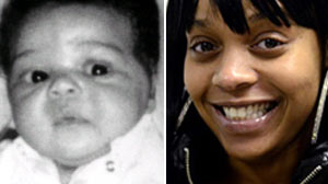 PHOTO Carlina White is shown as an infant, left, and again, Jan. 19, 2011.