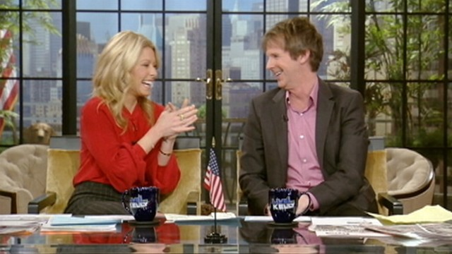 VIDEO: Actor Dana Carvey impersonates Philbin while co-hosting with Kelly Ripa.