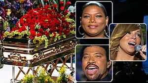 Photo: Michael Jacksons Memorial: The Singers Final Act
