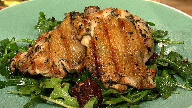 PHOTO: Mario Batali's chicken paillard is shown here.