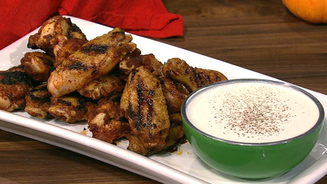 PHOTO: Mario Batali's wing recipe is shown here.