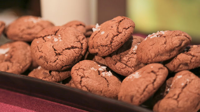 PHOTO: Michael Symon's chocolate chocolate chip cookies are shown here.
