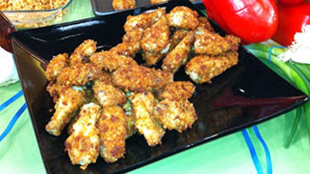 PHOTO: Chorizo Chicken Wings