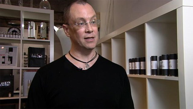 "PHOTO: Christopher Brosius is a perfumist who makes custom scents at his ""I Hate Perfume"" labs in Brooklyn for clients willing to pay thousands to have a personal perfume."