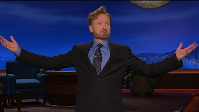 Conan OBrien Returns to Television