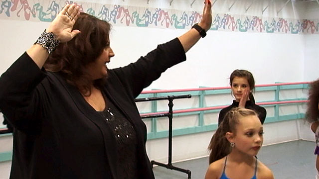 PHOTO: Abby Lee Millers tough coaching has come under criticism from Derek Hough and Mark Ballas.